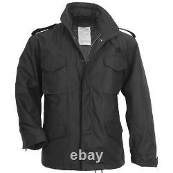 Surplus Classic US Military M65 Field Jacket Mens Army Parka & Liner Black S-3XL