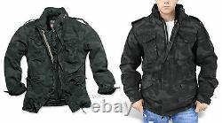 Surplus M65 Regiment Jacket With Warm Quilted Fleece Liner Military Army Coat