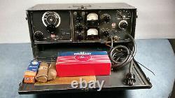 Sweet &ultra Rare Wwii U. S. Military Army Rca Mi-8751 Field Radio