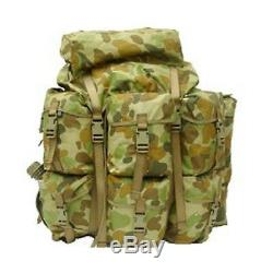 Tas Auscam Alice Pack XL Military Spec 900d + Zip Off Side Pocket Army /hunting