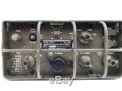 Telefunken RT77 GRC9-GY Army Military Jeep Radio