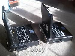 Two Ex Military / army / landrover HETRA TEMPEST laptop computer pentium 233