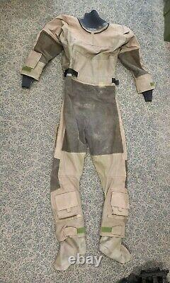 Typhoon British Military Army Navy SBS SAS UKSF Surplus Dry Suit Medium