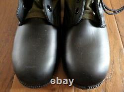 U. S Military Issue Jungle Boots Panama Sole Ro Search Spike Protective 10r New
