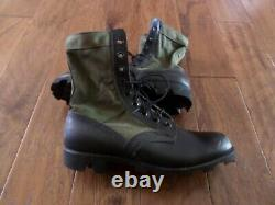 U. S Military Issue Jungle Boots Panama Sole Ro Search Spike Protective 9.5 R New