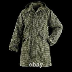 U. S Military Night Desert Camouflage Fishtail Parka With Liner New X-large