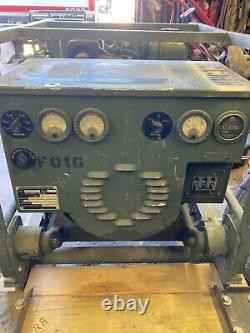 US ARMY Surplus MILITARY 3KW 60Hz 0.8PF Diesel GENERATOR Model MEP-016D