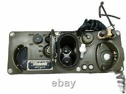 US Army Field Telephone Set TA-312/PT +Case Vintage Military Radio Phone Vietnam