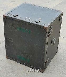 US Army Military Portable Headquarters Field Desk