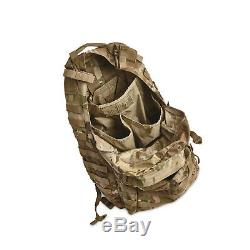 US Army Military Surplus Medium Molle II Multicam Assault Rucksack Backpack Pack