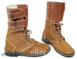 US Army / Military WW2 M43 Boots Double Buckle Leather 1943 Repro American Boot
