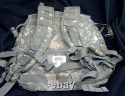 US MILITARY ACU Assualt Backpack USMC Army Bag Led Water Jug Tent Survival Kit