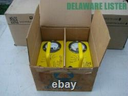 US Military Army Surplus Lot of 2 Geiger Counters Model CDV-715 + Orig. Box