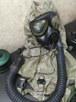US Military Army Surplus MSA M40 M42 Gas Mask with Accessories NBC CBRN