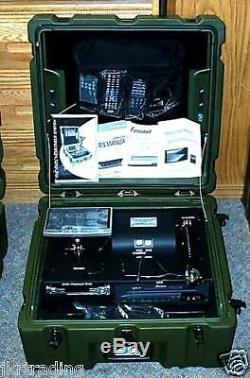 US Military Army Surplus Portable Video Messenger System Monitor VCR DVD Camera