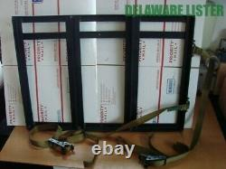 US Military Army Truck Humvee Triple 3 Ammo Box/Can Mount Holder withStraps NEW