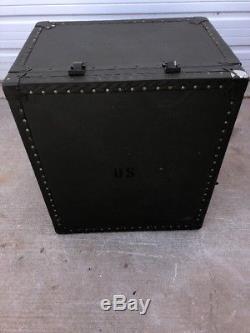 US Military GI Field Desk Army USMC Industrial Steampunk Vintage Decor #9