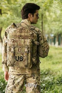 US Military Surplus Molle II 3 Day Assault Pack Army Tactical Backpack Multicam
