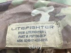 USGI military surplus U. S. ARMY OCP LITEFIGHTER 1 TENT NSN 8340-01-628-8855