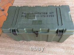 USMC Army Military Surplus Hardigg Foot Locker Storage Container Green Go Box GI