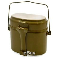 USSR Canteen Military Pot original Soviet Russian Army with Lightweight Collapsi