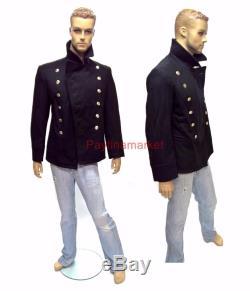 USSR Military Russian Army Navy Bushlat Marine Sailor's Jacket Soviet Uniform