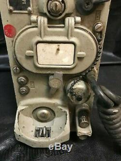 Us Army Military Surplus Ta-43 Pt Signal Corps Field Phone X2