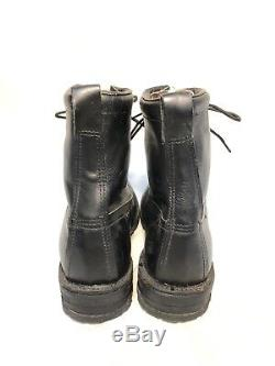 Us Military Army Mountain Ski Boot Leather 10th Sfg Chippewa Boots 12d Vintage