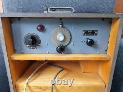 VINTAGE MILITARY ARMY RADIO WIRELESS SET No 17 WS-17 Mk-II ZA. 13785 c1941