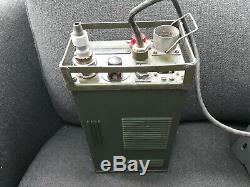 VINTAGE MILITARY ARMY RADIO WS88 AFV + CARRIER + POWER SUPPLY/AMP UNIT No 2 + HS