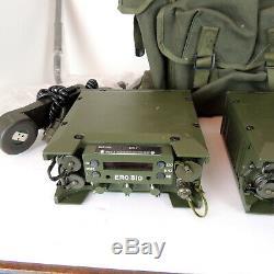 VTG Military Transmitter Tactical Radio Transceivers Army Bag Handset Carry Bag