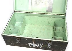Vietnam Era 100% Aluminum Original US Army Military Foot Locker 30 x 18 x 12