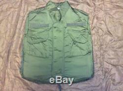 Vintage Army Military Surplus Fragmentation Flak Vest Jacket Vietnam War M69 GI