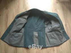 Vintage Army Uniform Jacket Military Tunic Swiss Wool Original 1964