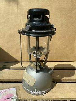 Vintage British Army Vapalux Paraffin Tilley Lamp Willis Bates Military + Box