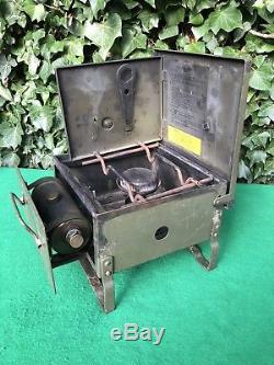 Vintage Military British Army No. 2 Mk2 Petrol Camping Stove