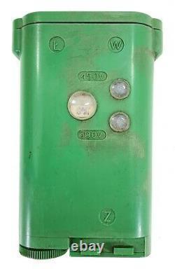 Vintage Military Detonator Blasting Machine Set TNT Miners Polish Army Poland