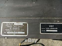 Vintage Military IP-1548/G Tactical Visual Display Terminal