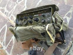 Vintage Military Manpack Racal Squadcal Tra 906