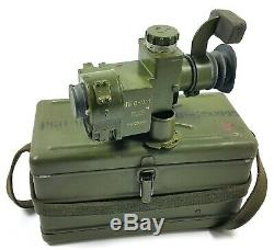 Vintage Military Optic Sight Viewfinder Pgo-9m Soviet Russian Army Cold War Spg9