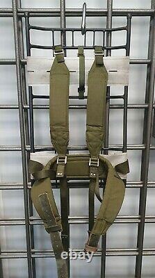 Vintage Super Rare Genuine Swedish Army LK70 Rucksack Military surplus backpack