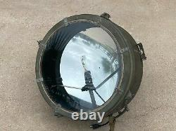 Vintage US ARMY SIGNAL CORPS Crouse Hinds SEARCHLIGHT Military Search Light