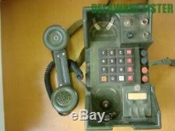 Vintage US Army Military Radio Field Phone/Telephone TA-838/TT