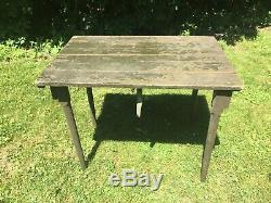 Vintage US Army Military Wood Field Desk Folding Table