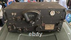 Vintage Wwii Military Us Army Signal Corp Radio Receiver Bc-348-r. Untested