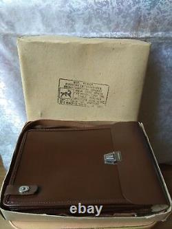Vintage old SOVIET RUSSIAN MILITARY OFFICER TABLET Fild BAG map case Army USSR
