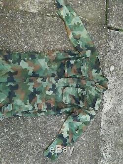Yugoslavia/Serbia/RSK/Balkan Army/Military Oak Leaf Coverall