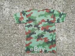Yugoslavian/Serbian Army/Military Set Uniform in M93 Oak Leaf Camouflage