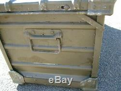 Zarges Folding Case Box Military Army Aluminium Expedition Storage Land Rover
